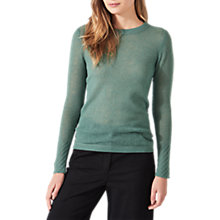 Buy Jigsaw Cloud Cashmere Crew Neck Jumper Online at johnlewis.com