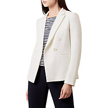 Buy Hobbs Coralyn Jacket, Ivory Online at johnlewis.com