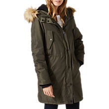 Buy Jigsaw Windbreaker Parka Online at johnlewis.com