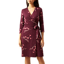Buy Hobbs Sally Dress, Merlot Online at johnlewis.com
