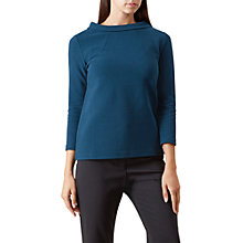 Buy Hobbs Freya Top, Teal Online at johnlewis.com