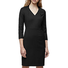 Buy Reiss Huxley Tailored Dress, Black Online at johnlewis.com