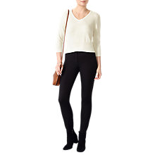 Buy Pure Collection Cotton Stretch Stirrup Trousers Online at johnlewis.com