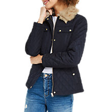 Buy Oasis Quilted Jacket Online at johnlewis.com