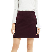 Buy Oasis Cut About Cord Skirt Online at johnlewis.com