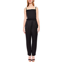 Buy Ted Baker Liayla Ankle Grazer Jumpsuit, Black Online at johnlewis.com