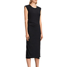 Buy AllSaints Round Neckline Gamma Dress Online at johnlewis.com