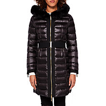 Buy Ted Baker Amandea Long Hooded Puffer Coat Online at johnlewis.com