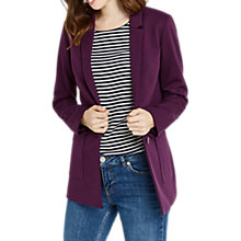 Buy Oasis Boyfriend Blazer, Burgundy Online at johnlewis.com