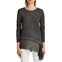 Buy AllSaints Lauryn Miro Long Sleeve T-Shirt Online at johnlewis.com