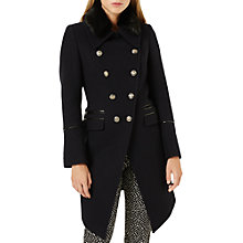 Buy Damsel in a dress Fairfield Military Coat, Navy/Black Online at johnlewis.com