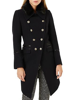 3f26fb85bb Damsel in a Dress Fairfield Military Coat