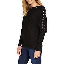 Buy Phase Eight Esther Batwing Jumper, Charcoal Marl Online at johnlewis.com
