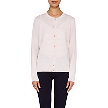 Buy Ted Baker Cherell Scalloped Detail Cardigan, Pale Pink Online at johnlewis.com