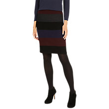 Buy Phase Eight Cecelia Tri-Toned Knitted Pencil Skirt, Multi Online at johnlewis.com