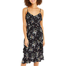 Buy Oasis Mare Cami Midi Dress, Black Online at johnlewis.com