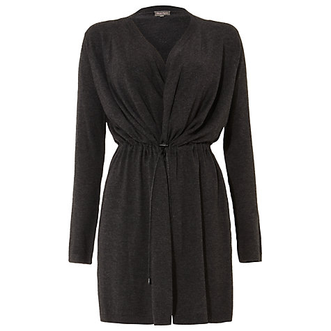 Buy Phase Eight Abree Toggle Cardigan, Charcoal Marl Online at johnlewis.com