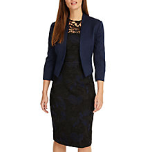 Buy Phase Eight Valda Jacket, Sapphire Online at johnlewis.com