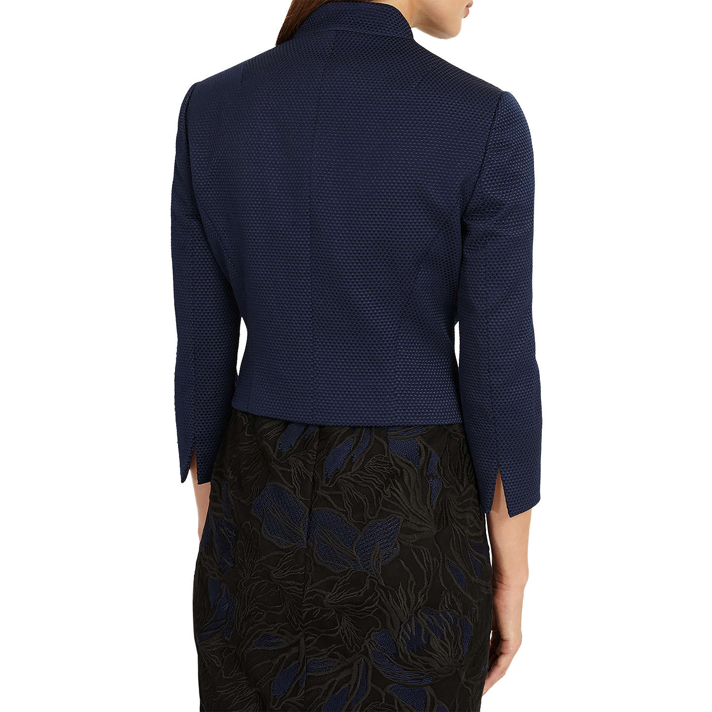 BuyPhase Eight Valda Jacket, Sapphire, 12 Online at johnlewis.com