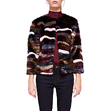 Buy Ted Baker Robarla Faux Fur Jacket Online at johnlewis.com