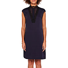 Buy Ted Baker Jesyka Tunic Dress, Navy Online at johnlewis.com