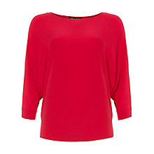 Buy Phase Eight Cristine Batwing Jumper, Decadent Pink Online at johnlewis.com