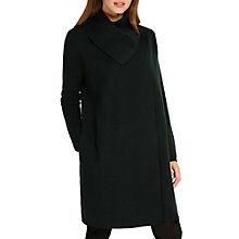 Buy Phase Eight Paloma Plain Jacquard Coat, Green Online at johnlewis.com