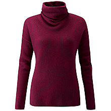 Buy Pure Collection Gassato Drape Neck Jumper Online at johnlewis.com