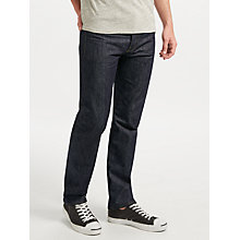 Buy Levi's 501 Straight Leg Selvedge Jeans, Denim Online at johnlewis.com