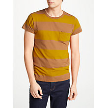 Buy Levi's Vintage 1950s Stripe Sportswear T-Shirt, Whiskey Barrel Online at johnlewis.com