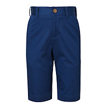 Buy John Lewis Heirloom Collection Boys' Cotton Sateen Suit Shorts, Blue Online at johnlewis.com