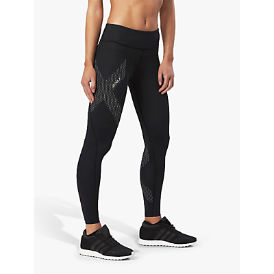 2XU Mid-Rise Compression Training Tights, Black