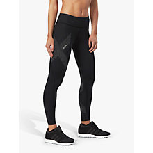 Buy 2XU Mid-Rise Compression Women's Tights, Black Online at johnlewis.com