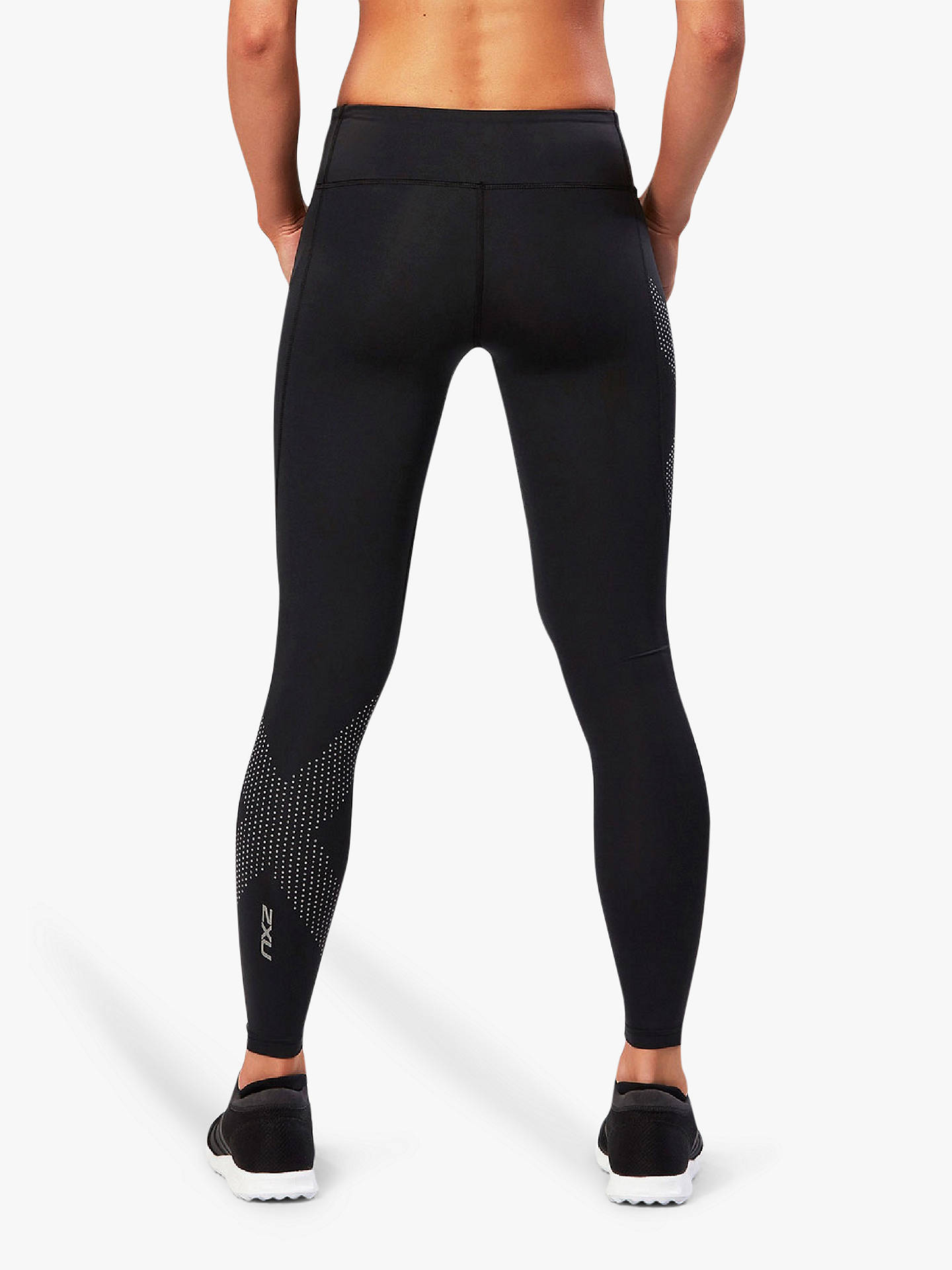 Buy2XU Mid-Rise Compression Training Tights, Black, XS Online at johnlewis.com