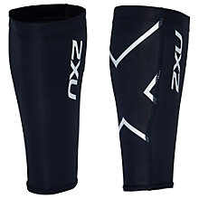 Buy 2XU Compression Calf Guards, Black Online at johnlewis.com