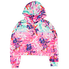 Buy Hype Girls' Pyramid Cropped Hoodie, Multi Online at johnlewis.com