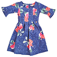 Buy Angel & Rocket Large Floral Dress, Navy Online at johnlewis.com