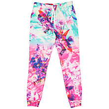 Buy Hype Girls' Pyramid Floral Joggers, Multi Online at johnlewis.com