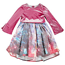 Buy Angel & Rocket Girls' Winter Scene Dress, Multi Online at johnlewis.com