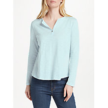 Buy Collection WEEKEND by John Lewis Notch Neck Jersey Top Online at johnlewis.com
