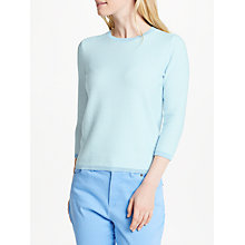 Buy Collection WEEKEND by John Lewis Textured Three-Quarter Sleeve Jumper Online at johnlewis.com