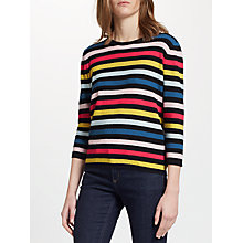 Buy Collection WEEKEND by John Lewis Pique Stripe Jumper, Multi Online at johnlewis.com
