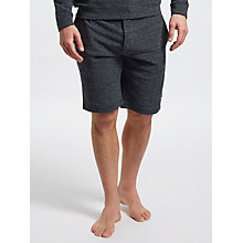 Buy Paul Smith Cotton Blend Lounge Shorts, Dark Grey Online at johnlewis.com