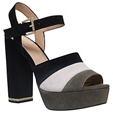 Buy MICHAEL Michael Kors Anise Block Heeled Platform Sandals, Multi Online at johnlewis.com