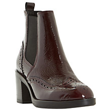 Buy Dune Black Parke Block Heeled Ankle Chelsea Boots Online at johnlewis.com