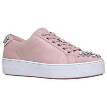 Buy MICHAEL Michael Kors Poppy Embellished Lace Up Trainers Online at johnlewis.com
