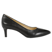 Buy Geox Forsythia Pointed Toe Court Shoes, Black Online at johnlewis.com