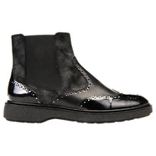 Buy Geox Prestyn Leather Ankle Boots Online at johnlewis.com