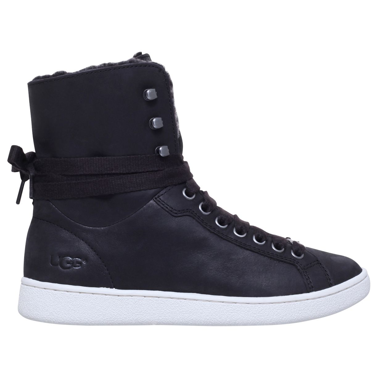 6dbdac9dd3c UGG Starlyn Sheepskin High Top Trainers at John Lewis & Partners