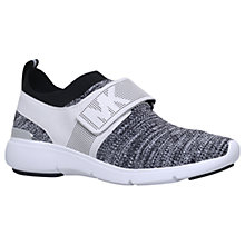 Buy MICHAEL Michael Kors Xander Rip Tape Trainers Online at johnlewis.com